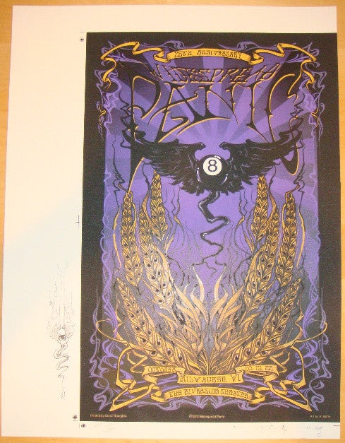 2011 Widespread Panic - Milwaukee Uncut Concert Proof by Biffle