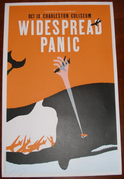 2006 Widespread Panic - Charleston Concert Poster by Kleinsmith