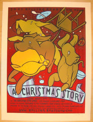 "2007 ""A Christmas Story"" - Silkscreen Movie Poster by Jay Ryan"
