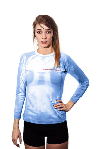Blue Nova 2.0 - Women's Long Sleeve Shirt - PRE ORDER - SHIPS IN MARCH 2017
