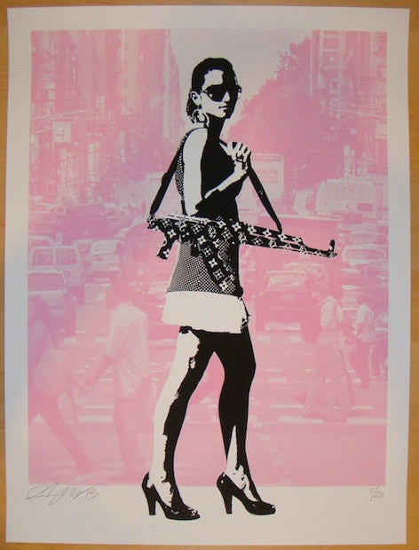 2013 Always In Season NYC - Pink Art Print by Rene Gagnon