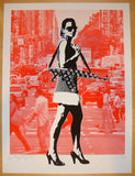 2013 Always In Season NYC - Red Art Print by Rene Gagnon