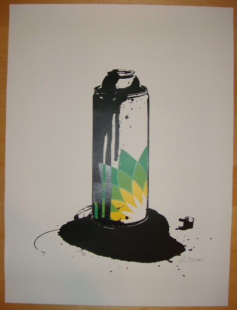 2010 BP (Beyond Paint) - Silkscreen Art Print by John Grayson