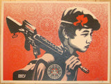 2008 Duality of Humanity 2 - Silkscreen Print by Shepard Fairey