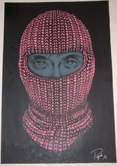 2009 Heist on Leather - Mixed Media Art Print by Prefab