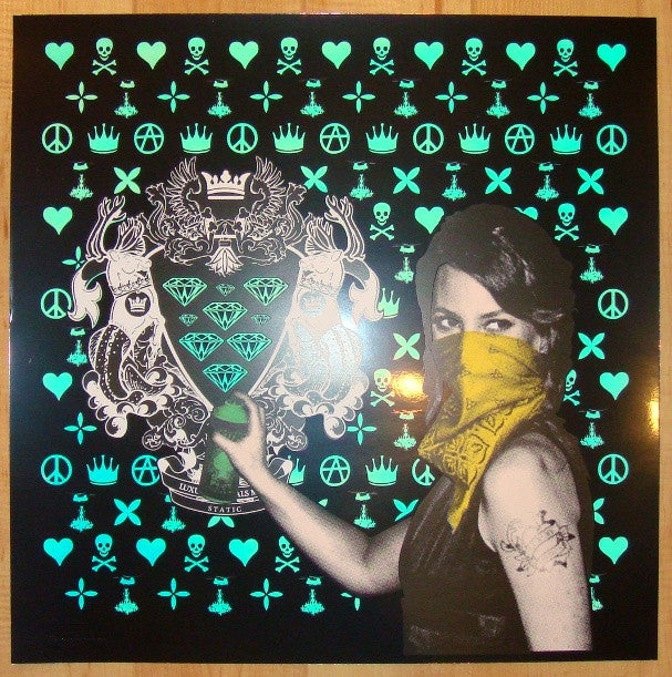 2011 Luxury Vandals - Christy Silkscreen Art Print by Static
