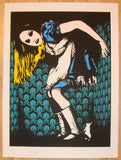 2011 Alice - Silkscreen Art Print by Eelus
