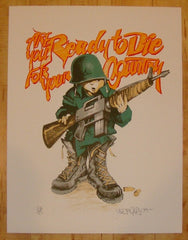 2009 Are You Ready To Die For Your Country - Print by Mear One