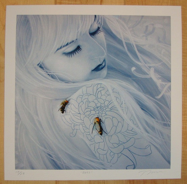 2012 Bees - Giclee Art Print by Joey Remmers