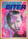2011 Bite Biter - Silkscreen Art Print by Rene Gagnon