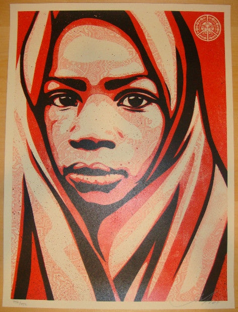 2009 Blanket - Silkscreen Art Print by Shepard Fairey