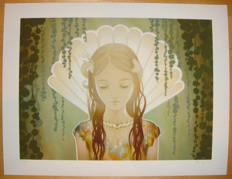 2012 Carapace Light - Giclee Art Print by Amy Sol