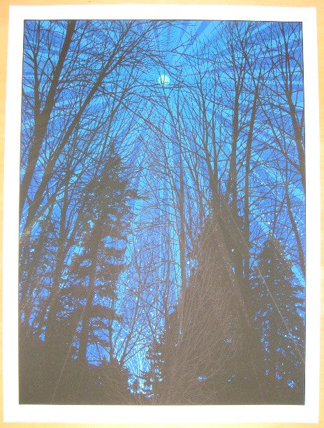 2010 Cold Moon - Silkscreen Art Print by Dan McCarthy