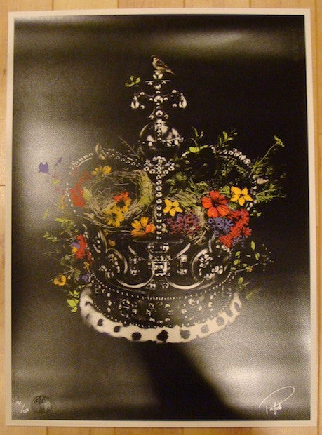 2012 Crown & Country - Jubilee Silkscreen Art Print by Prefab