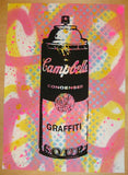 2011 Custom Graffiti Soup - Silkscreen Art Print by Rene Gagnon