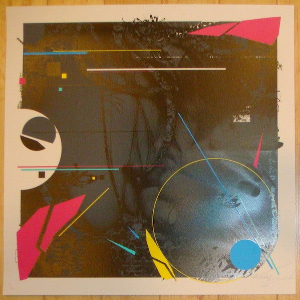 2012 Deconstructivist - Silkscreen Art Print by Prefeb & Rough