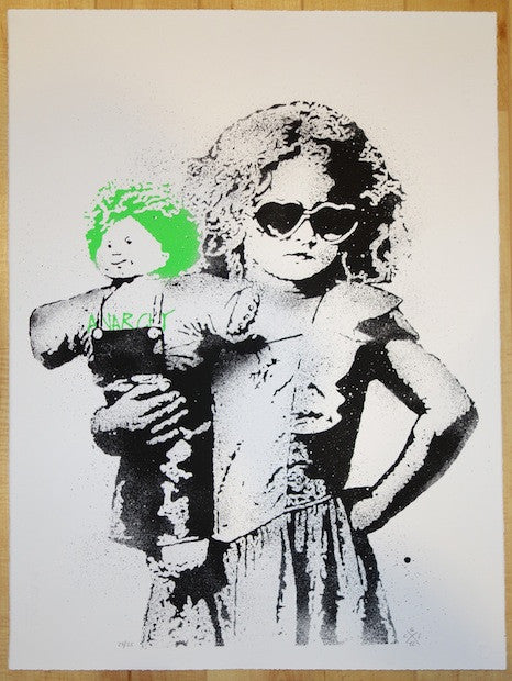 2012 Dolled Up - Silkscreen Art Print by Les Enfants Terribles