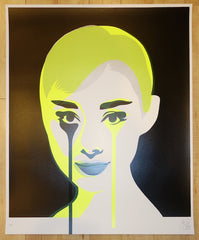 2013 Double Exposure - Yellow Silkscreen Art Print by Pure Evil