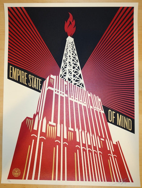 2014 Empire State of Mind - Art Print by Shepard Fairey