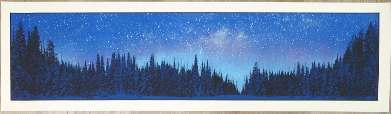 2017 February Stars - Silkscreen Art Print by Dan McCarthy