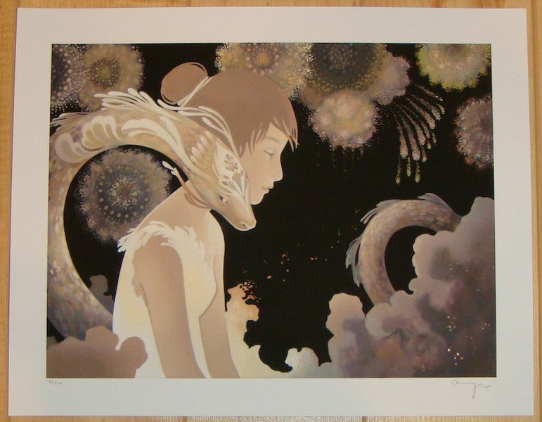 2012 Fire's Daughter - Giclee Art Print by Amy Sol