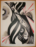 2010 From Every Angle - Silkscreen Art Print by Lucy McLauchlan