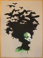 2010 Gambia - Silkscreen Art Print by Eelus