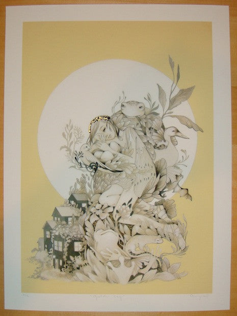 2012 Golden Cay - Giclee Art Print by Amy Sol