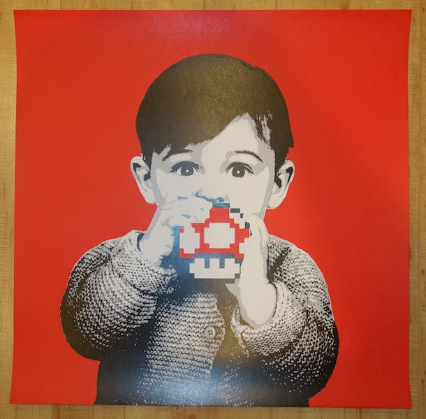2014 Grow Up - Silkscreen Art Print by Bot