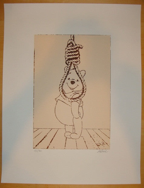 2012 Hang In There - Silkscreen Art Print by Imbue