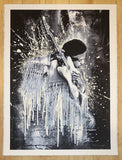 2015 Jimi - White Silkscreen Art Print by Mr. Brainwash
