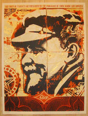 2005 Lenin Record - Silkscreen Art Print by Shepard Fairey