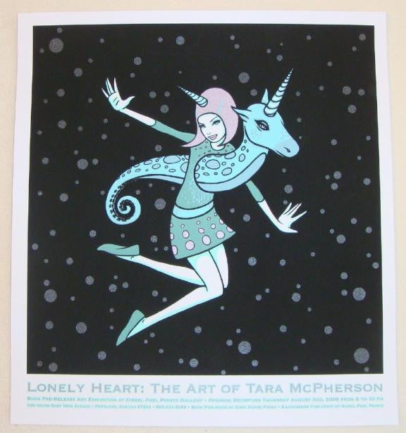 2006 Lonely Heart Exhibit - Silkscreen Print by Tara McPherson