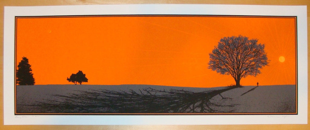2010 Long Days - Silkscreen Art Print by Dan McCarthy