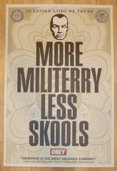 2003 More Militerry - Lithograph Art Print by Shepard Fairey