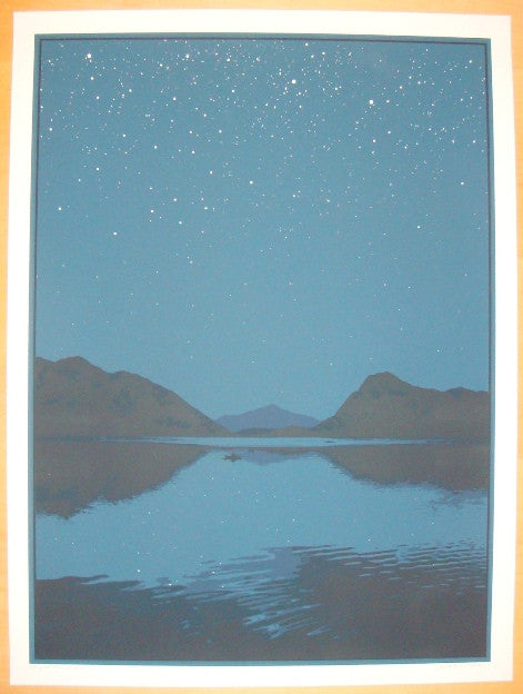 2010 Night Air - Silkscreen Art Print by Dan McCarthy