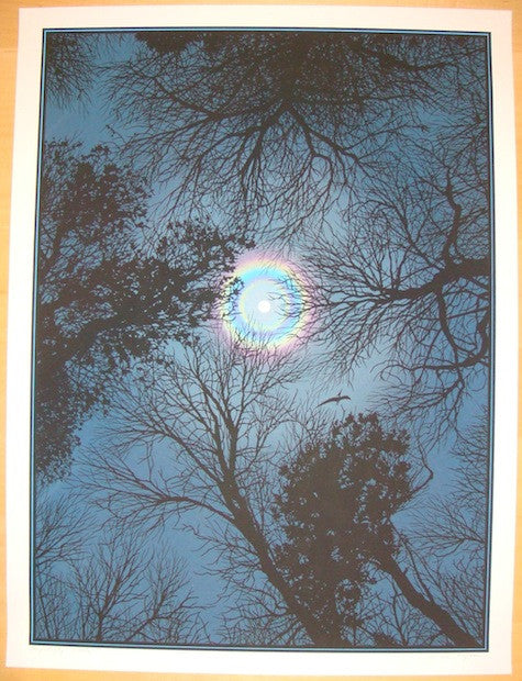 2012 Night Sky - Silkscreen Art Print by Dan McCarthy