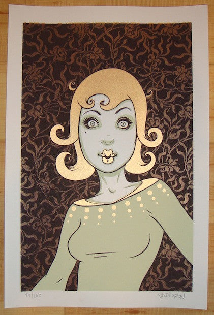 2008 Oops! - Silkscreen Art Print by Tara McPherson