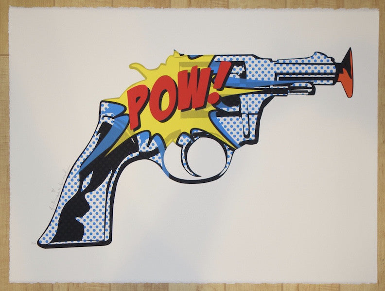 2015 POW! POW! - Silkscreen Art Print by Mr. Brainwash