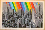 2012 Rainbow Inc. - Mono Silkscreen Art Print by Roamcouch