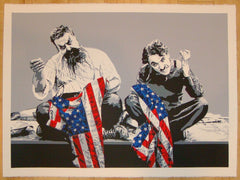 2010 Recovery Plan - Silkscreen Art Print by Mr. Brainwash
