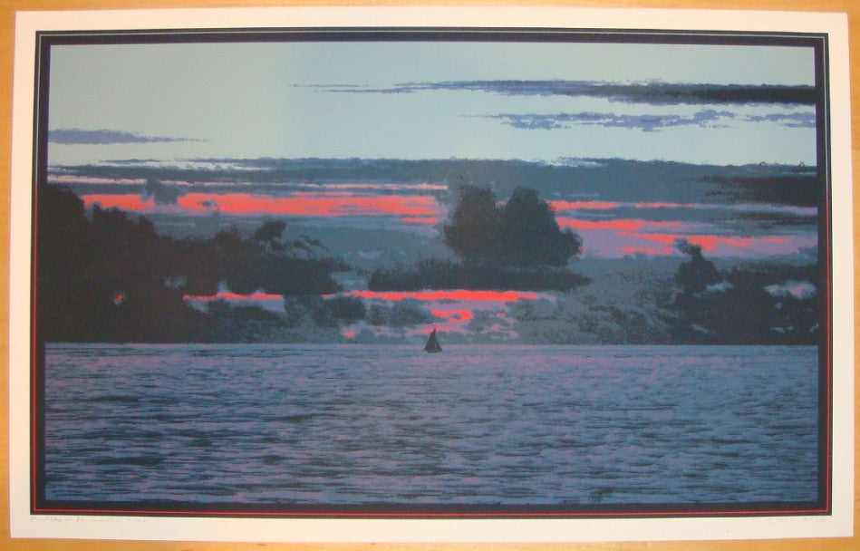 2011 Red Sky in the Morning - Art Print by Dan McCarthy