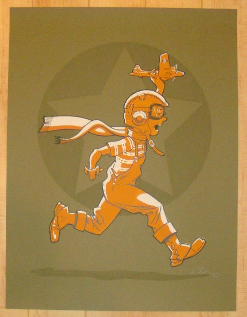 2011 Remember When - Silkscreen Art Print by Rob Schwager
