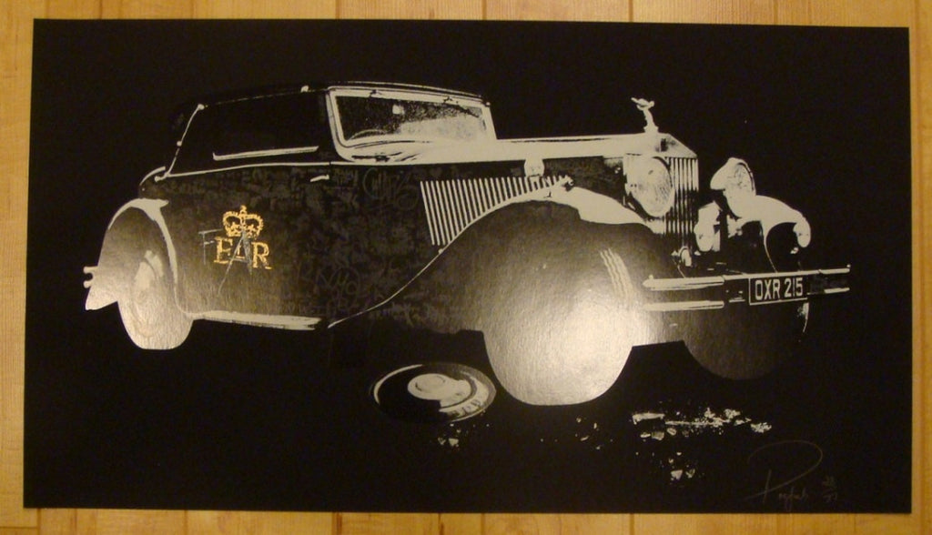 2008 Roller - Silkscreen Art Print by Prefab
