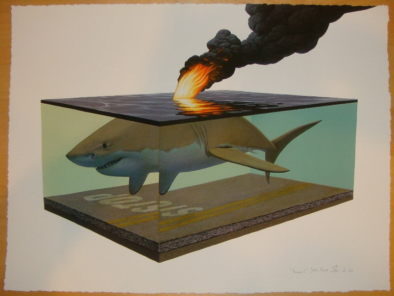 2011 Scorch I - Giclee Art Print by Josh Keyes