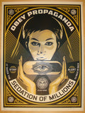 2013 Sedation Pill - Silkscreen Art Print by Shepard Fairey