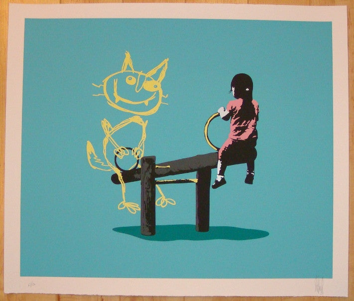 2012 See What I Saw - Silkscreen Art Print by Eelus