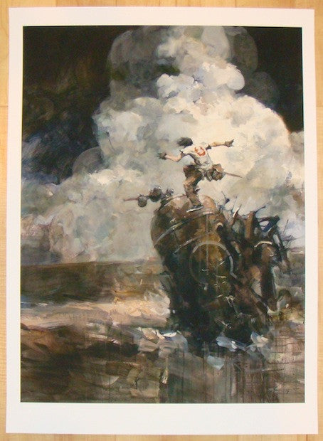 2013 Sorrento Assault - Giclee Art Print by Ashley Wood