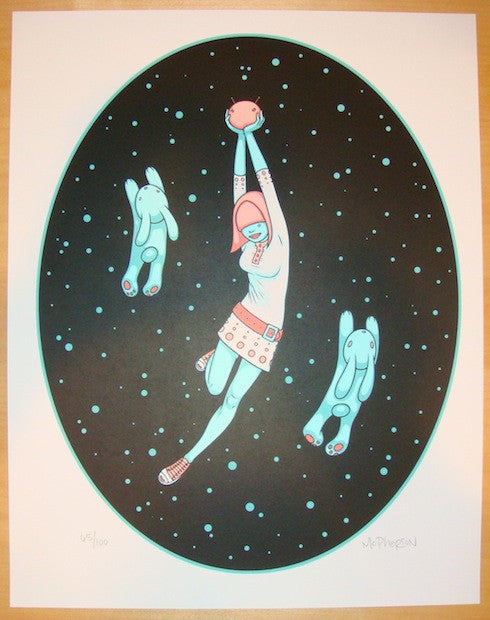 2009 Space Invaders - Silkscreen Art Print by Tara McPherson