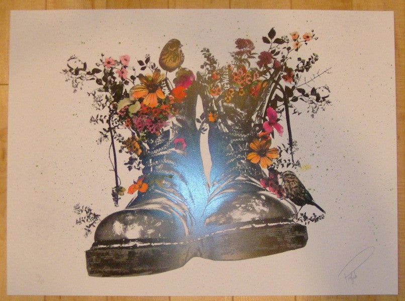 2013 Stand For Something - Silkscreen Art Print by Prefab